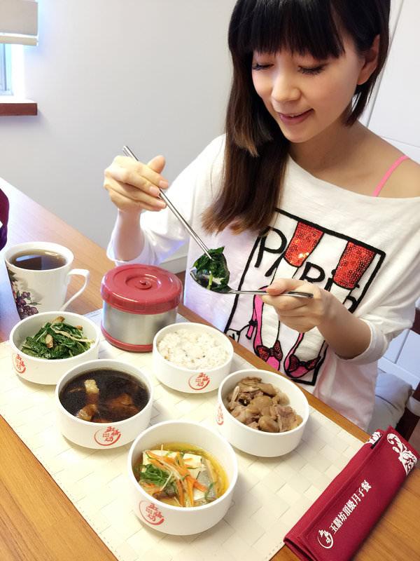 連隋棠都推薦玉膳坊月子餐♥三餐熱送像是從自家廚房上桌般的美味(≧∇≦)/
