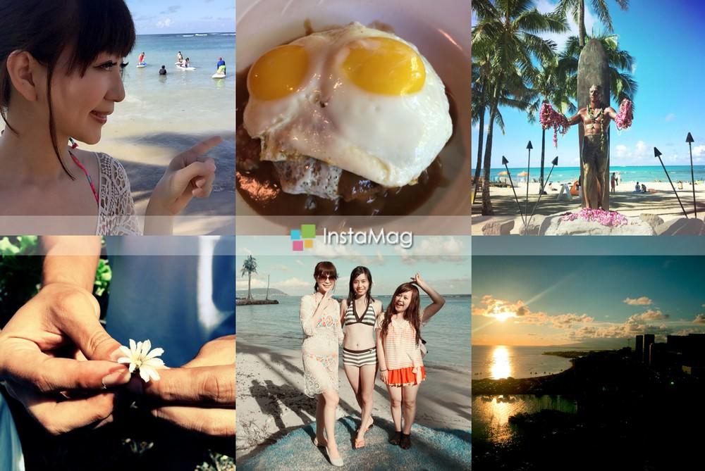 2015夏威夷旅遊趣♥ 歐胡小環島 Waikiki Beach+恐龍灣浮潛 +LOCO MOCO特色餐+ SUP Yoga♥♥♥