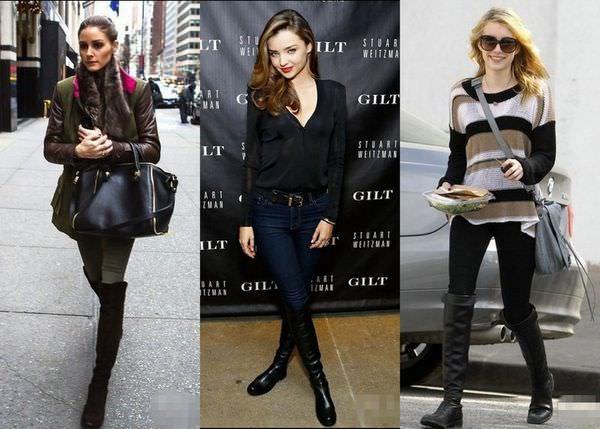 好萊塢女星最愛美腿神器♥超顯瘦的Stuart Weitzman穿搭分享(≧∀≦)