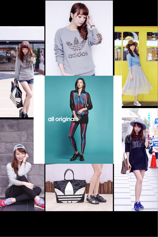 Adidas Originals&Converse&Pony品牌球鞋聯合特賣會♥4款經典必敗LOOK穿搭示範♥文末好禮大放送開獎啦!!(≧∀≦)