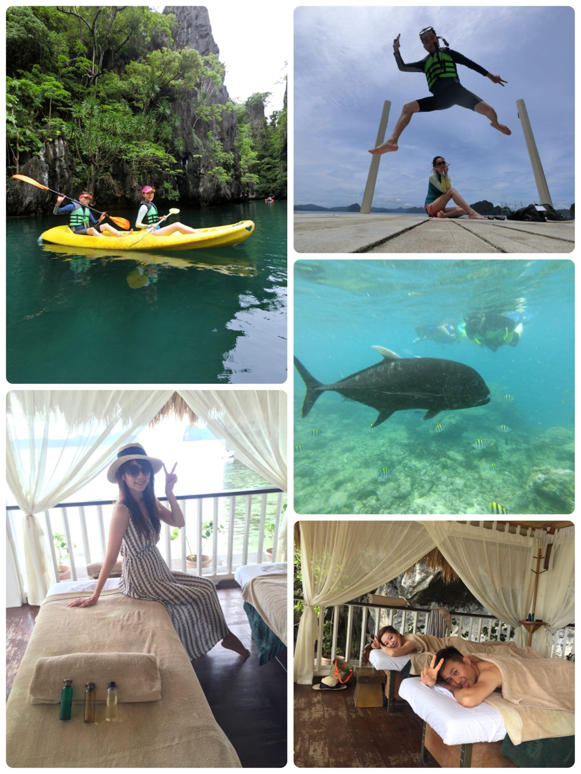 夢幻島嶼愛尼島El  NIDO♥美麗珊瑚礁+大小瀉湖+Miniloc全包式度假村♥愜意又悠閒的雙人浪漫旅程(≧∇≦)/完結篇
