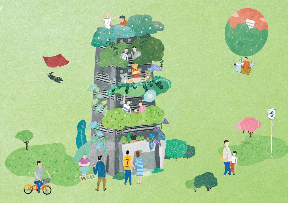 終於找到心目中的理想綠建築♥日景頂曦♥距離頂溪捷運站1分鐘超方便♥