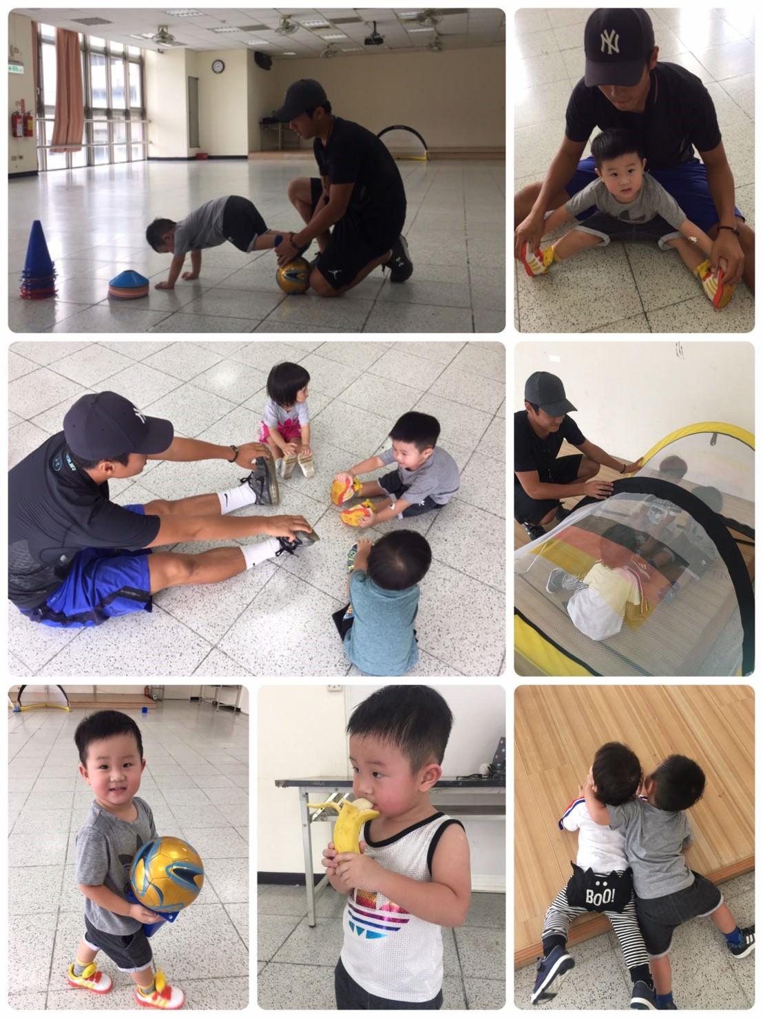 2歲寶寶的足球課❤️ AARON BB上課趣❤️養成喜歡運動的開始(≧∇≦)/