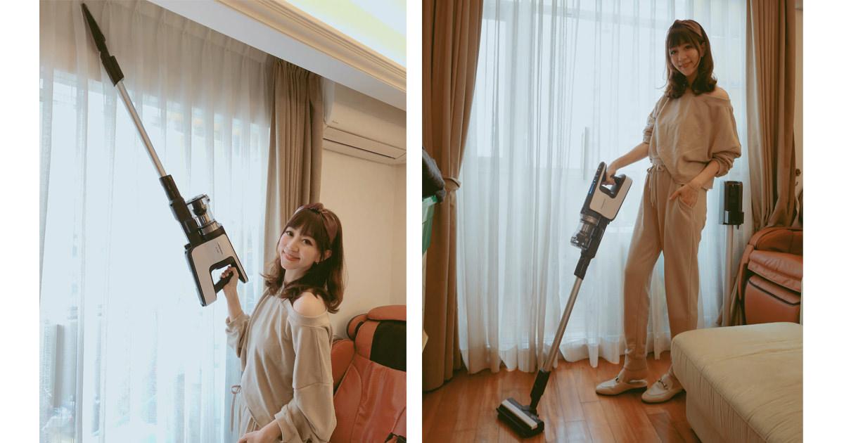 聰明又時尚的居家清潔好幫手❤️『 Panasonic無線吸塵器(MC-BJ980) 』輕鬆除塵 除蟎好EASY(≧∇≦)/