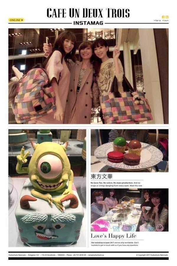 東方文華酒店♥Cafe Un Deux Trois♥果然是貴婦級的午茶饗宴(≧∇≦)/