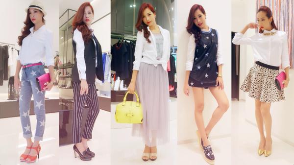 基本款白襯衫的5種重複穿搭術♥《愛怎麼穿,就怎麼穿:亞洲7大潮流城市穿搭指南》♥
