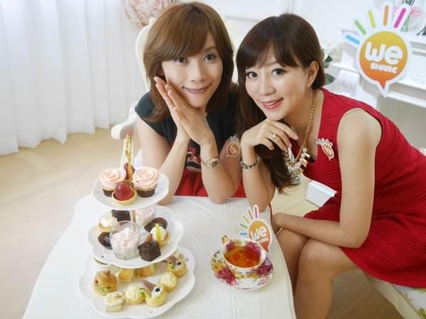 充滿浪漫氣息的香港L' Tea Room♥和奈奈一起午茶♥用影音來分享食記初登場(≧∇≦)/