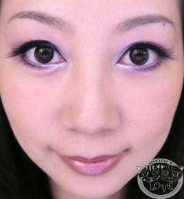 姐姐系的溫柔眼妝…優雅粉紫