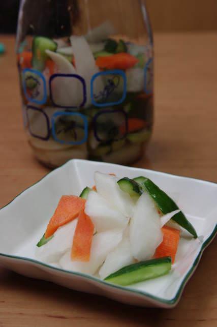 簡單易學的美味三色泡菜♥愛媽上菜♥涼拌小菜系列